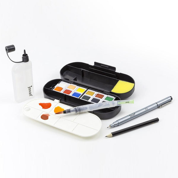Jasart Water Colour Voyager Ultimate Travel Set
