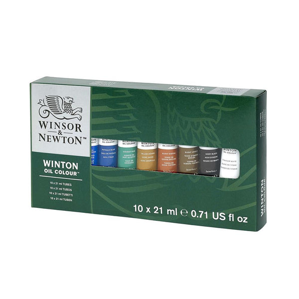 Winsor & Newton Oil Colour - 10 x 21ml Set