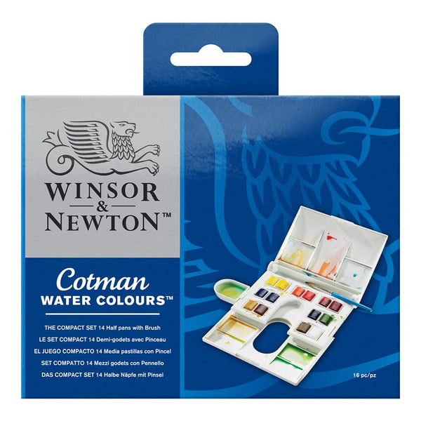 Winsor & Newton Cotman Water Colour - Compact Set