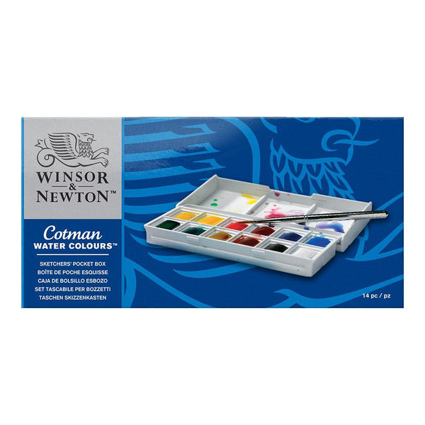 Winsor & Newton Cotman Water Colour - Sketchers' Pocket Box
