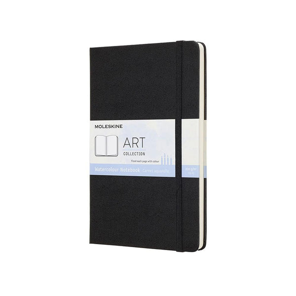 MOLESKINE - ART WATERCOLOUR NOTEBOOK - LARGE - BLACK