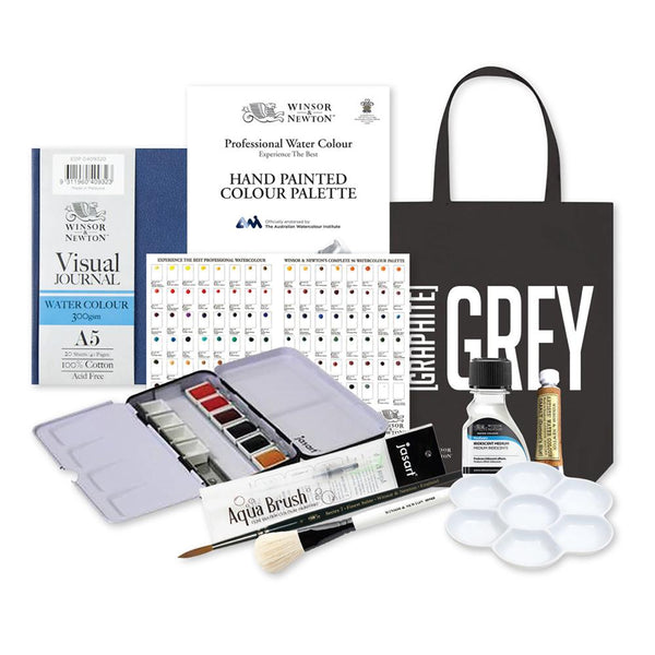 Winsor & Newton Wayfarer Professional Watercolour Gift Set
