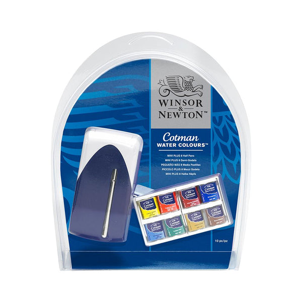 Winsor & Newton Cotman Water Colour Mini Plus Set