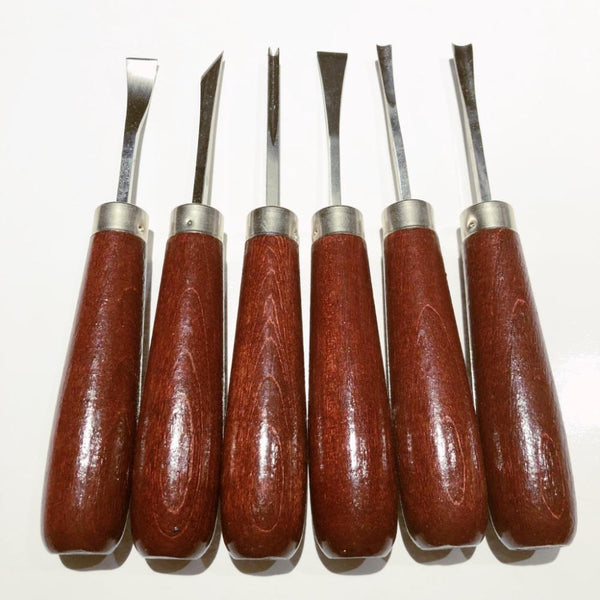 Edward Lyons - Wood Carving Set Straight Handle