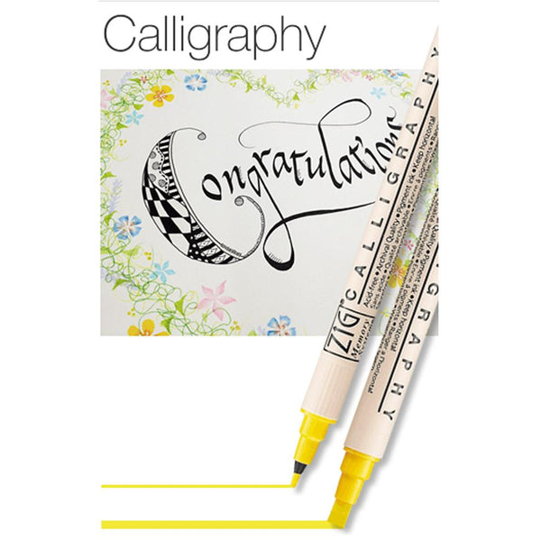 Zig Calligraphy Set