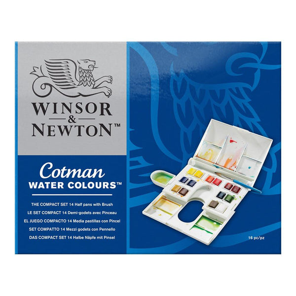Winsor & Newton Cotman Water Colours - The Compact Set