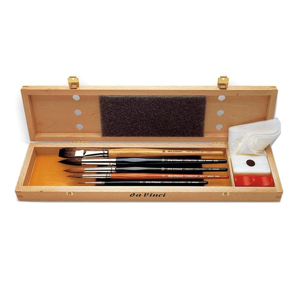Da Vinci Watercolour Brush Set 5240