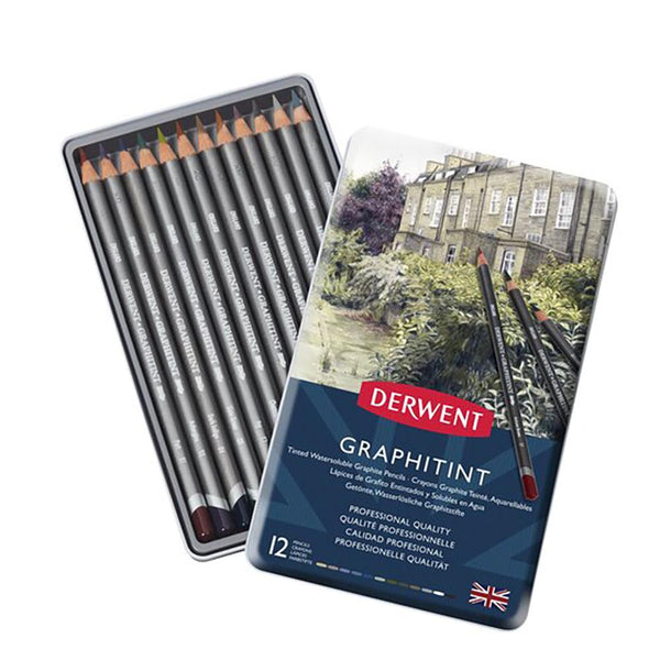 Derwent Graphitint Pencils - 12 Set