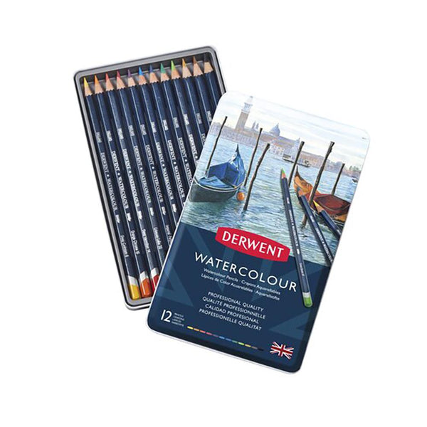 Derwent Watercolour  Pencils - 12 Set