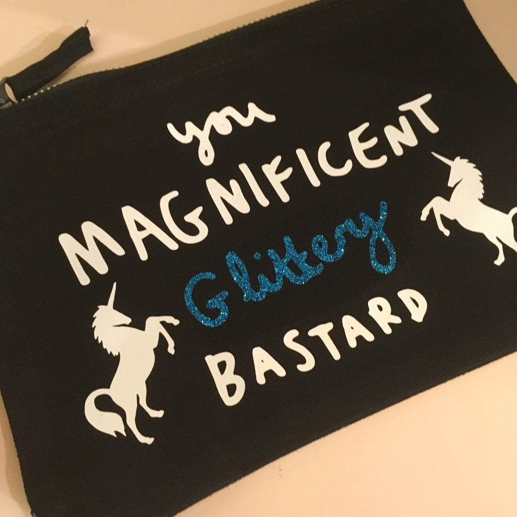 You Magnificent Glittery Bastard Clutch