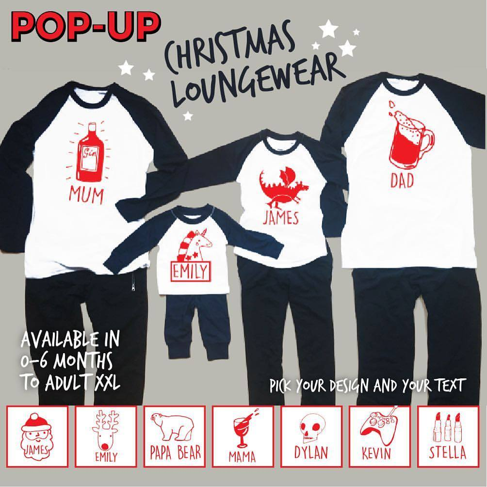 Personalised Christmas Loungewear - Favourite Things