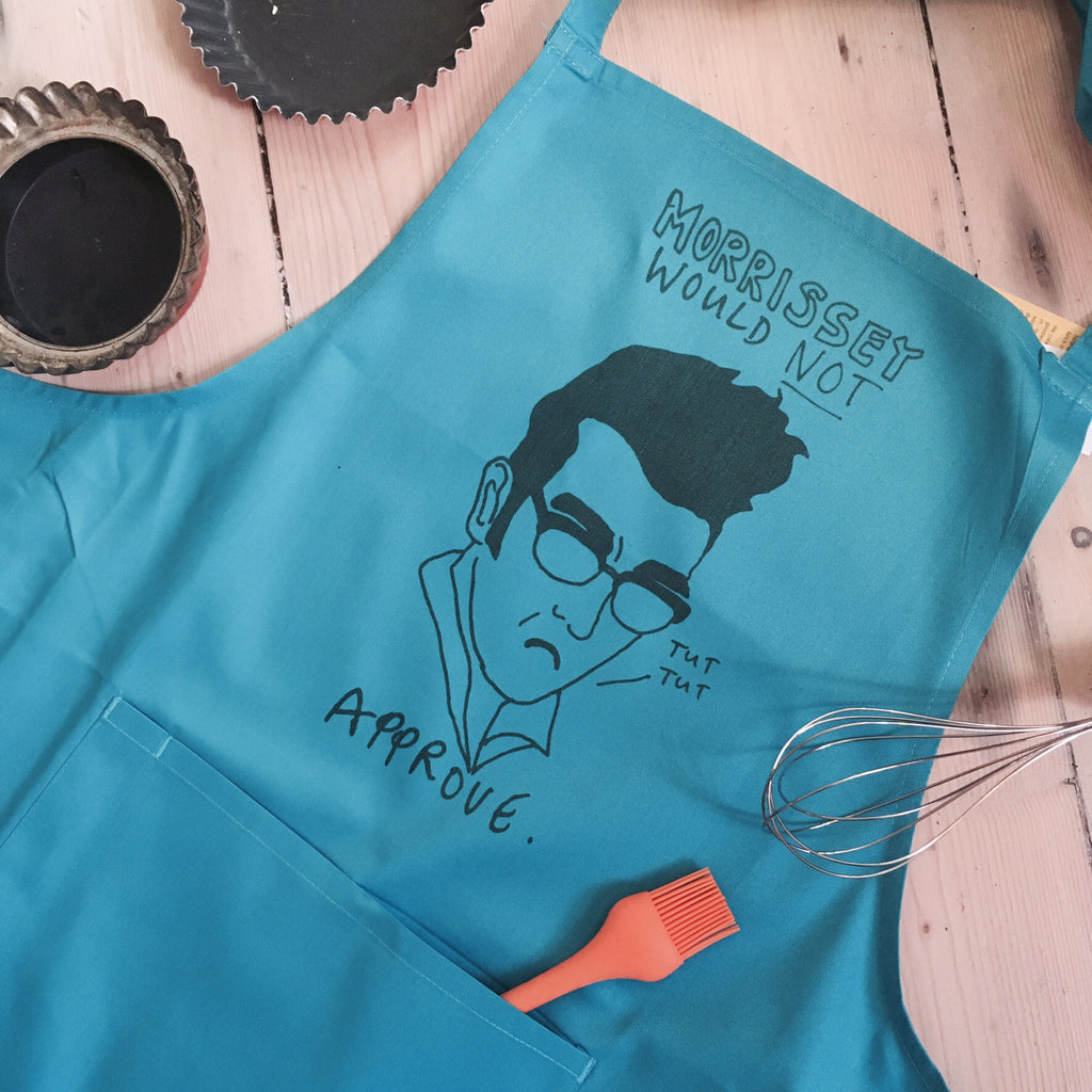Disapproving Morrissey Apron