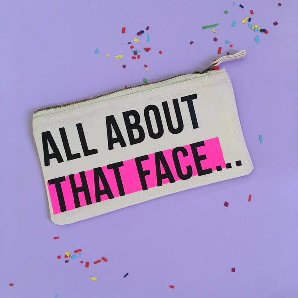 All About That Face Makeup Bag