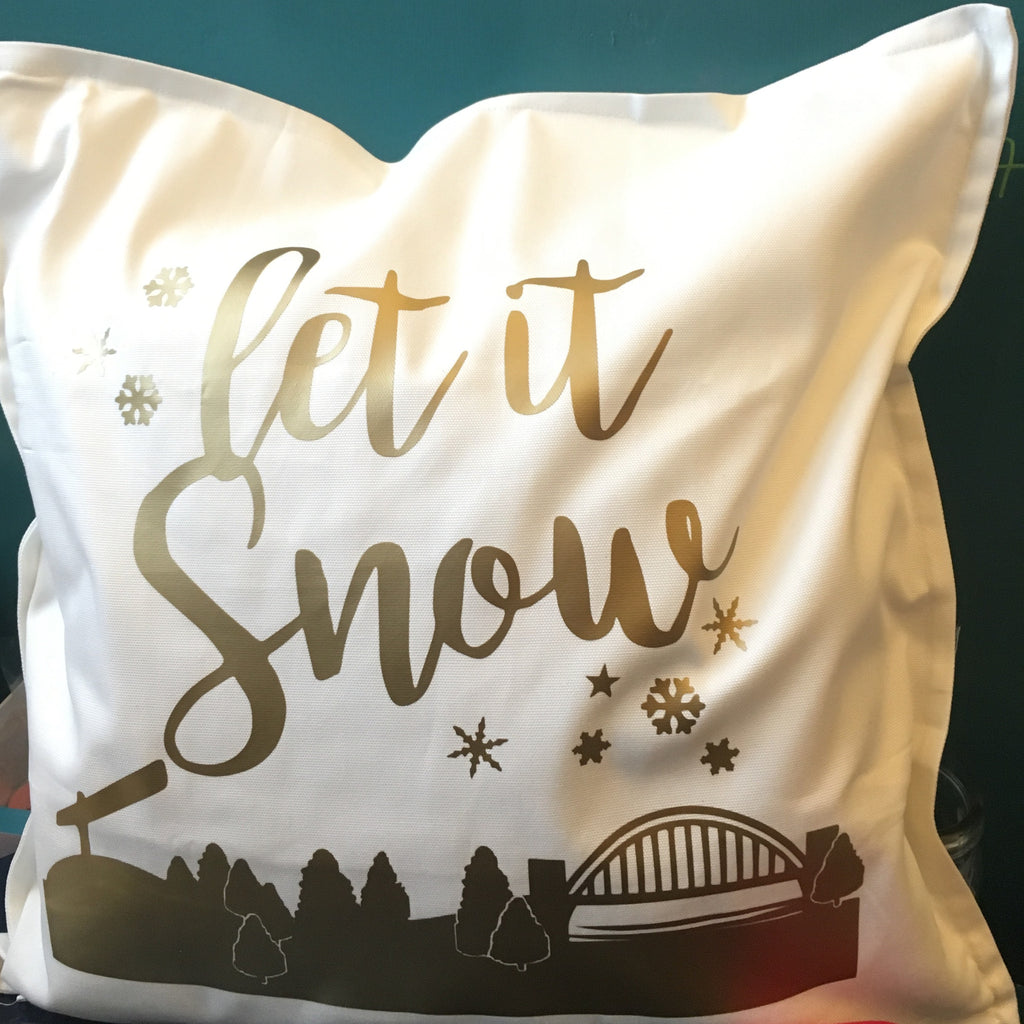 Let it Snow Cushion