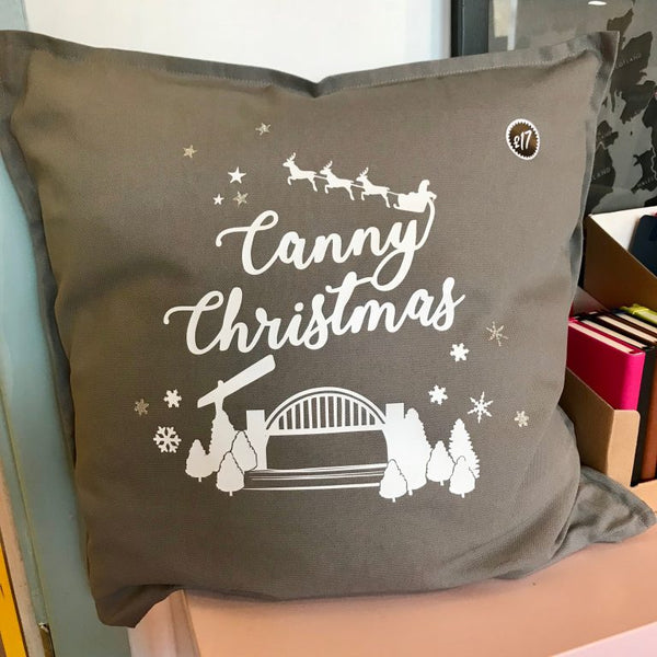 Canny Christmas Cushion