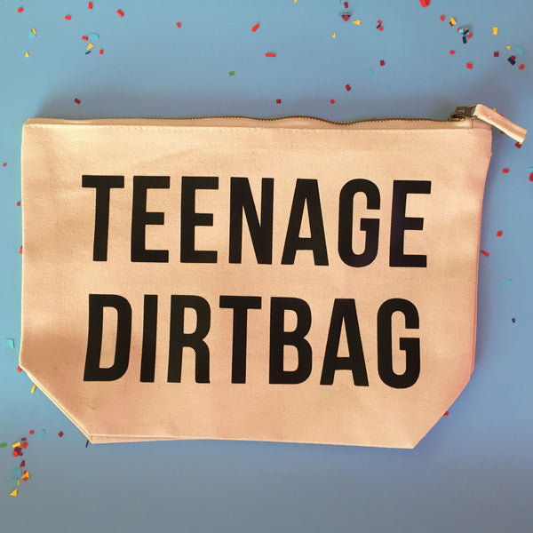 Teenage Dirtbag Wash Bag