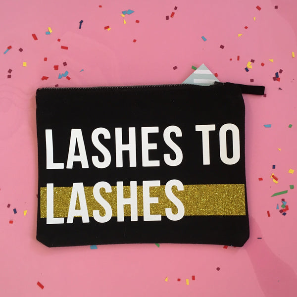 Lashes to Lashes Makeup Bag