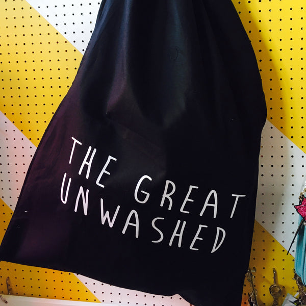 The Great Unwashed Laundry Bag