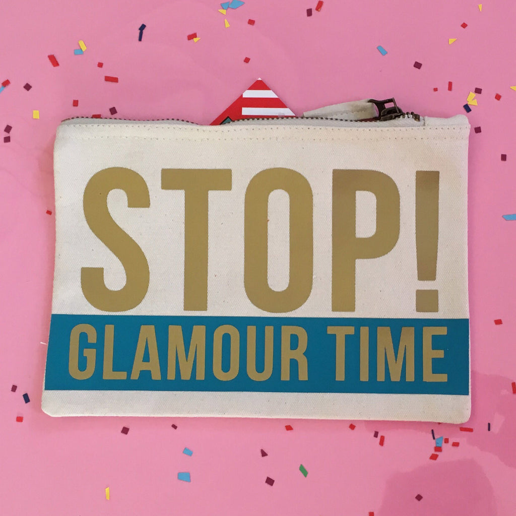 Stop Glamour Time! Makeup Bag