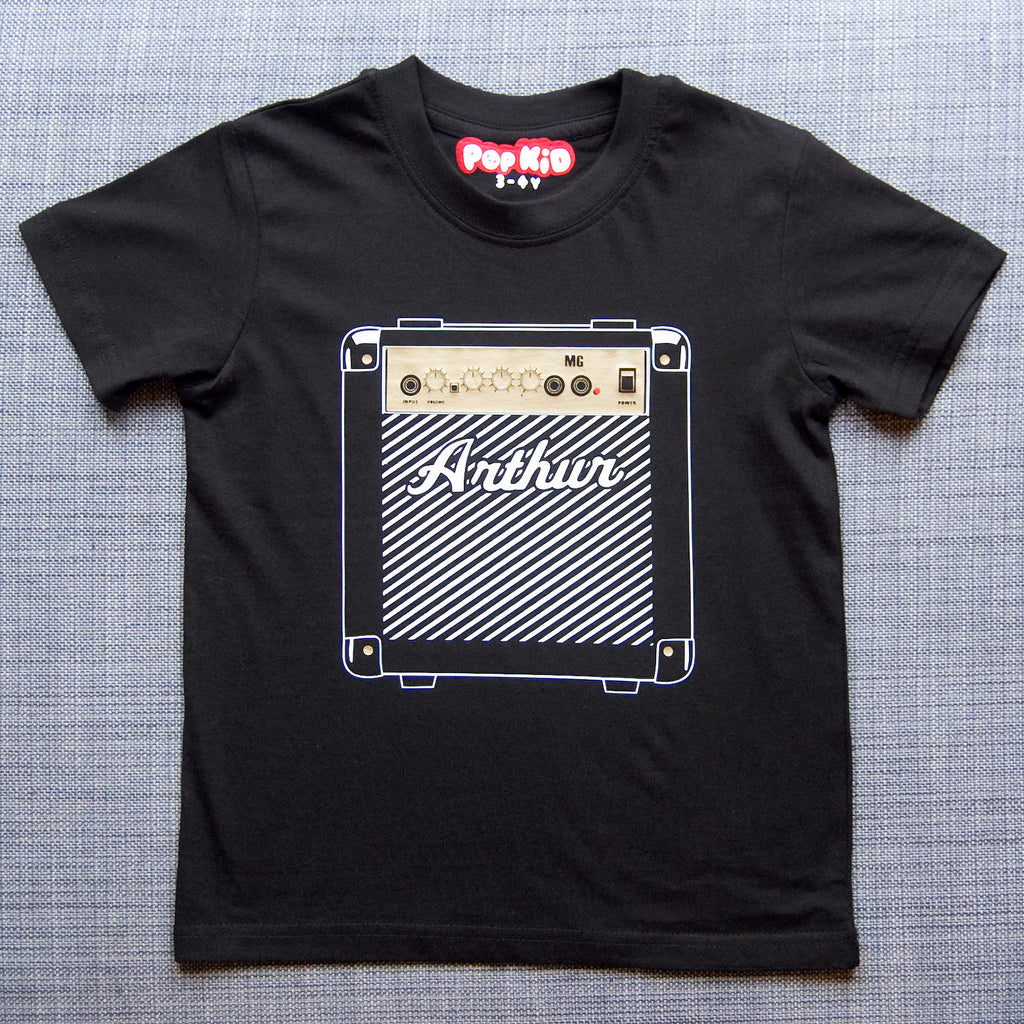 Personalised Kids Marshall Amp T-Shirt