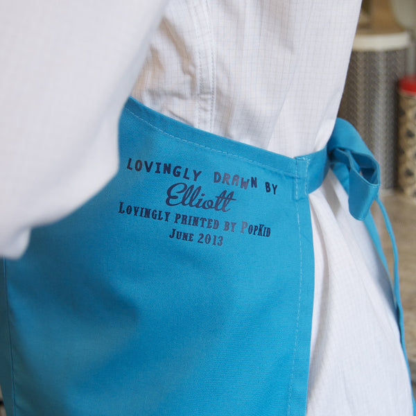 Personalised Child's Drawing Apron