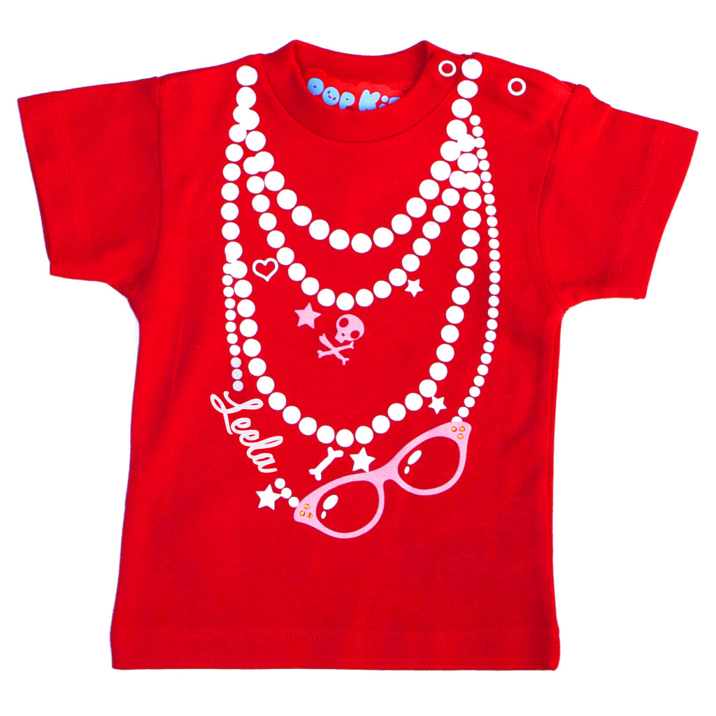 Personalised Necklace T-Shirt