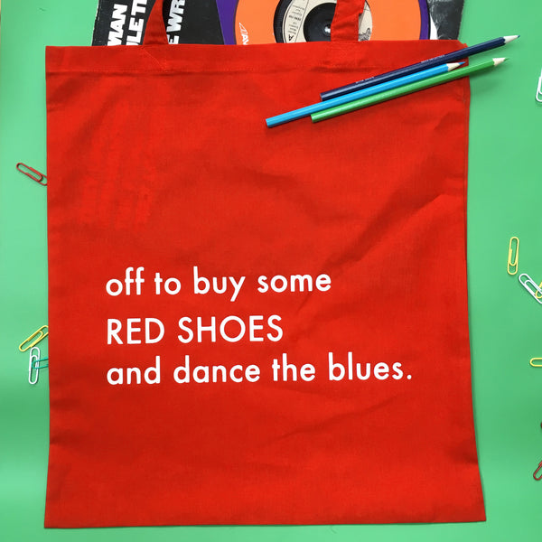 Red Shoes Tote