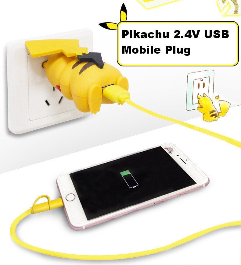 Now Charge Your Phone With Pikachu