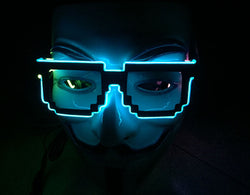 Pixel Light Up Glasses - Small Things Store