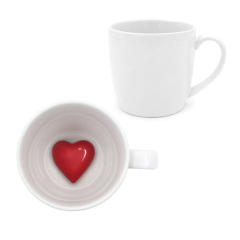 Bottom of My Heart Coffee Mugs - Small Things Store