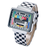 TV Test Pattern Watch - Small Things Store