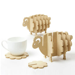 Sheep Fun Coasters