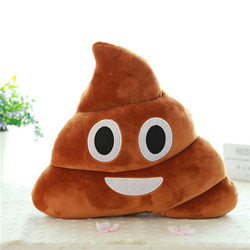 Emoji Poop Pillow - Small Things Store