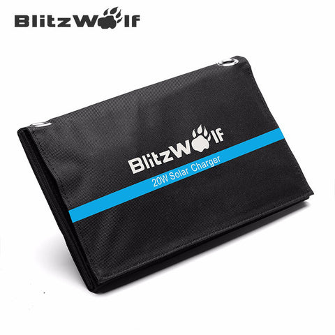BlitzWolf Portable Solar Power Bank