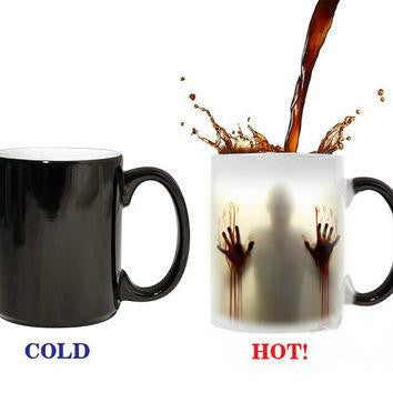 Walking Dead Heat Changing Mugs - Small Things Store