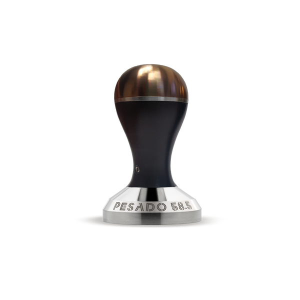PESADO 58.5 Tamper  Modular Handle  - Black/Bronze