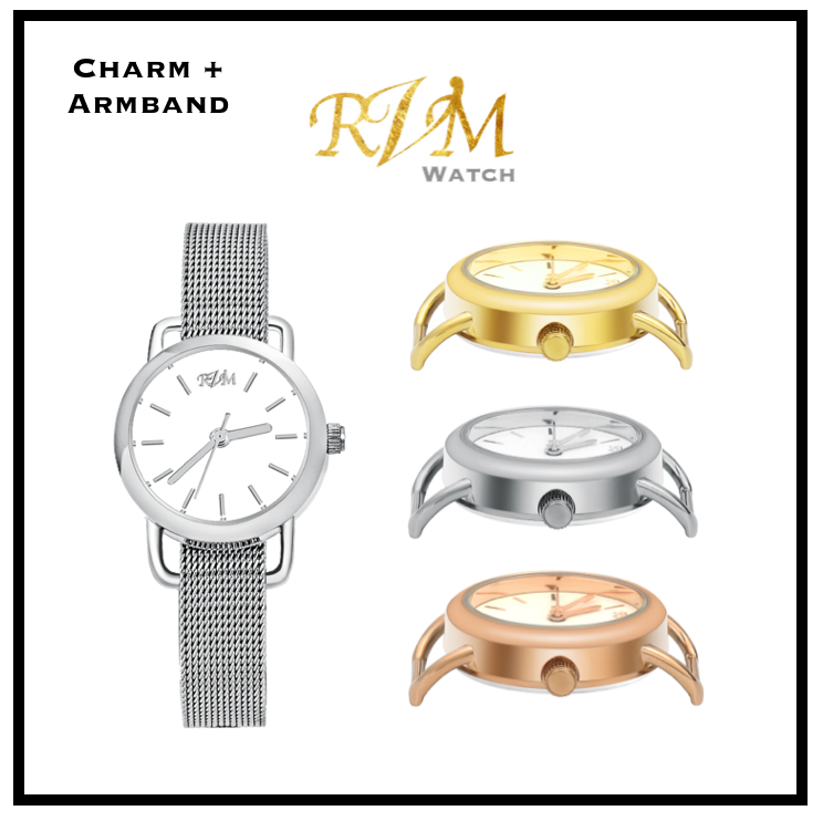 Original RicVanMur Watch + Armband
