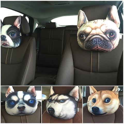 3D Printed Dog Face Cushion