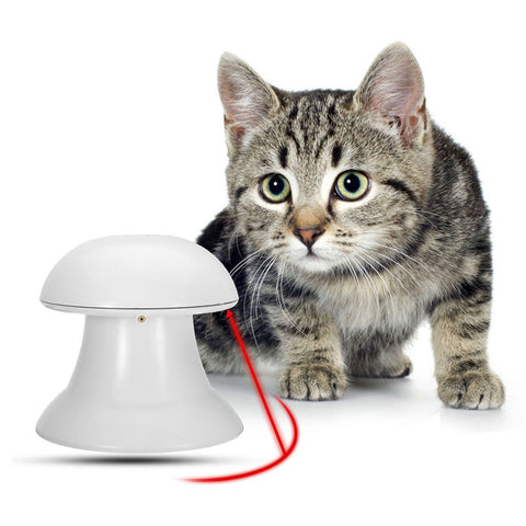 Attractive ... Automatic Laser Light Cat Toy ...