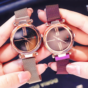 Magnetic Strap Watch
