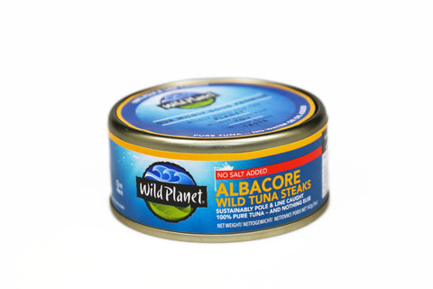 Albacore Wild Tuna Steaks No Salt Added 142g