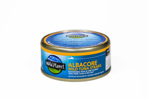 Albacore Wild Tuna Steaks 142g