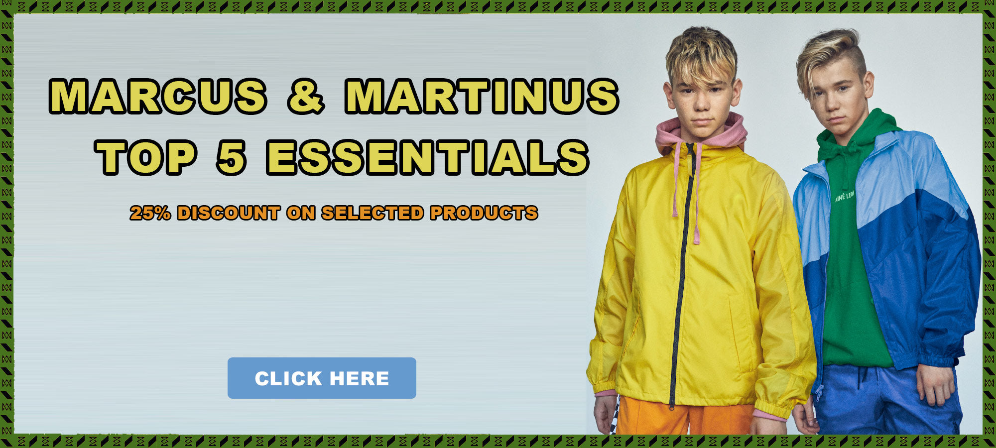 Avansert Marcus & Martinus Official Merchandise | Clothes, Accessories and IY-44