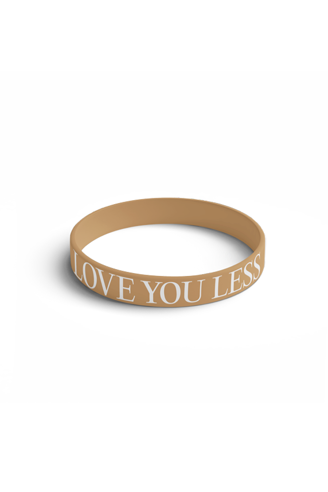 Love You Less Bracelet - Brown