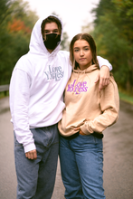 Load image into Gallery viewer, Love You Less Hoodie - White