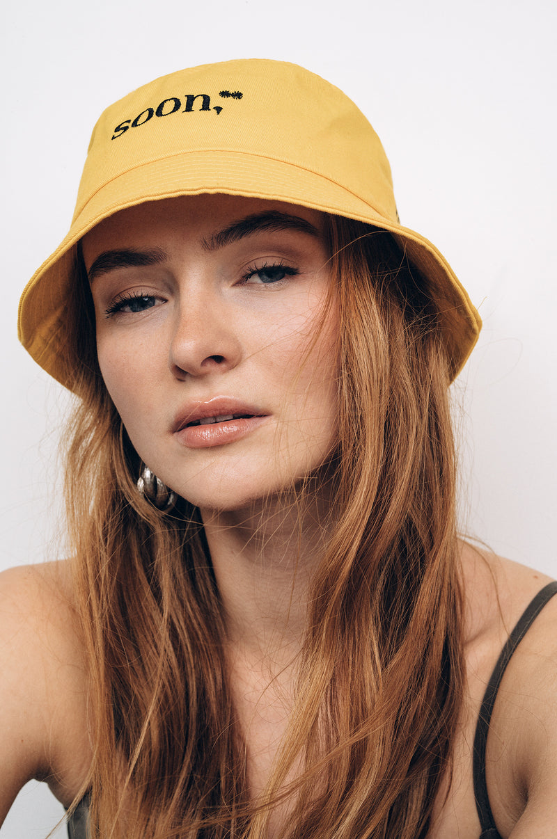 SOON II YELLOW BUCKET HAT