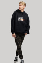 Load image into Gallery viewer, soon,** Black Picture Hoodie