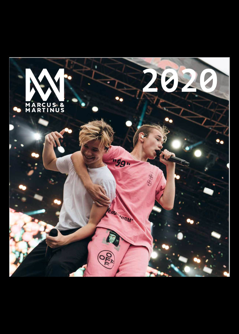 2020 Marcus and Martinus Wall Calendar