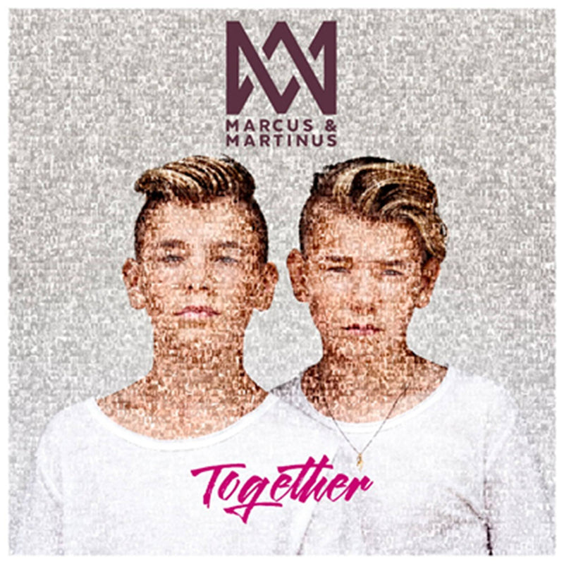 Marcus & Martinus - TOGETHER Album. Marcus and Martinus CD with 12 M&M songs.