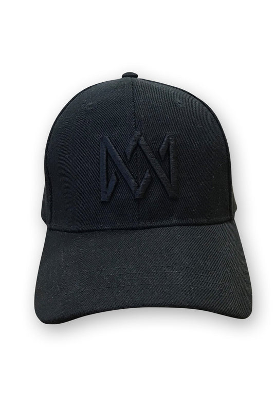 Cap - Snapback - Black On Black